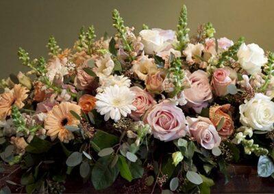 Bloemen voor condoleance